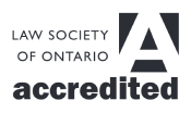 Law Society of Ontario Accredited