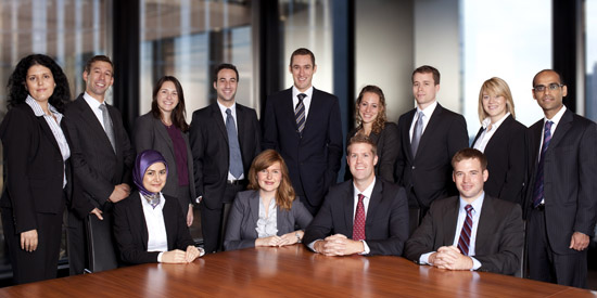 Torys' new associates 2010