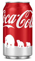 Coca-Cola WWF polar bears