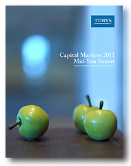 Torys' Capital Markets 2011 Mid-Year Report