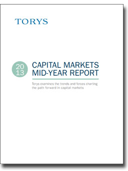 Capital Markets 2013 Mid-Year Report