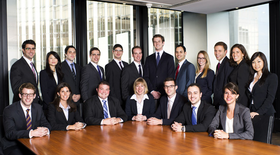 Toronto 2012-13 Articling Students