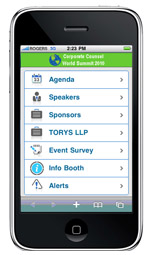 Corporate Counsel World Summit 2010 Mobile Event Guide