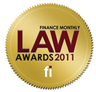 Finance Monthly Law Awards 2011