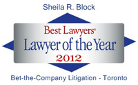 Lawyer of the Year 2012