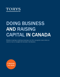 Doing Business in Canada Business Law Guide