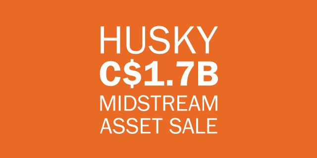 Husky midstream asset sale