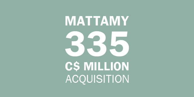 Mattamy C$330 Million Acquisition