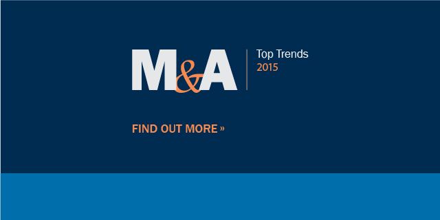 M&A Top Trends 2015