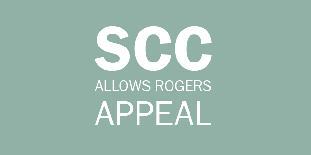 SCC Rogers Appeal