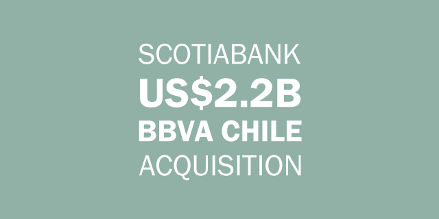 Scotiaband acquires BBVA Chile