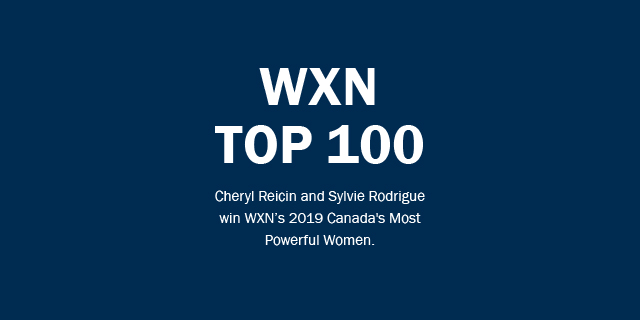 WXN Top 100 - Cheryl Reicin and Sylvie Rodrigue win WXN