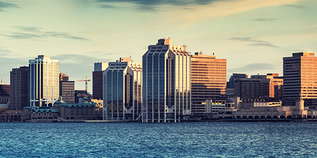Halifax Office Skyline