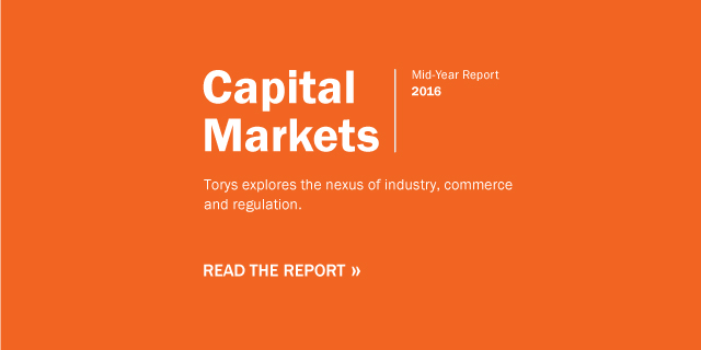 Capital Markets Mid-Year Report 2016