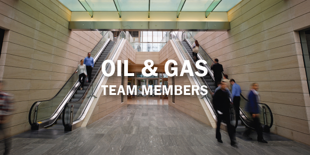 Oil & Gas Team Members