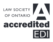 Law Society of Ontario Accredited EDI